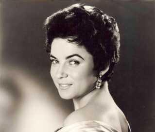 Sangerinden Birthe Wilke, som hun så ud i 1959.