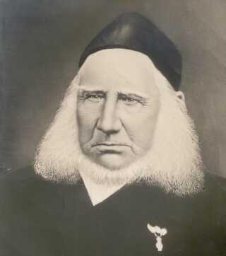 Grundtvig 1869, to år efter den opsigtsvækkende prædiken i Vartorv.