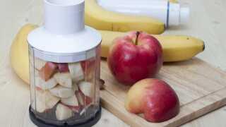 Der er forskel på næringsindhold og kostfiber-indhold alt efter, om du spiser æbler, blender æbler eller presser æbler, forklarer Marie Steenberger.
