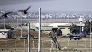 Her ses den base, som den tyrkiske regering nu har åbnet for angreb mod Islamisk Stat.