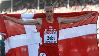 Andreas Bube vandt EM-sølv i 2012.