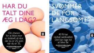 Fertilitetskampagne Københavns Kommune