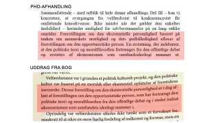 """Billedet viser sammenfaldet mellem uddannelsesministerens ph.d.-konklusion uden litteratur-henvisning (øverst) og et afsnit fra bogen """"Konkurrencestaten"""" (2011) af Ove K. Pedersen."""