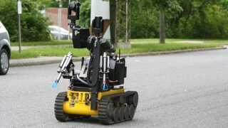 Bomberydderen Rullemarie er jo også en robot, vi har givet et navn...