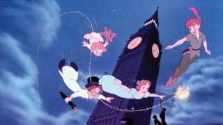 Igen i år er der gensyn med Peter Pan og vennerne i denne klassiske scene.