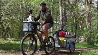 I 2015 cyklede Henning Elsner 5.400 kilometer, da han drog ud på endnu en rejse rundt omkring i Danmark.