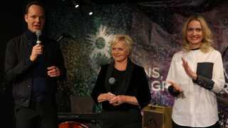 Tre glade værter præsenteres i Horsens, mandag eftermiddag.