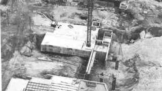 Kunsten under konstruktionen mellem 1968 og 1972.