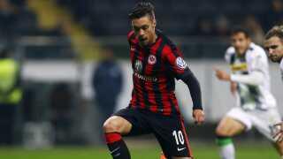 Vaclav Kadlec - her i Eintracht Frankfurt-trøjen - er FC Midtjylland-angriber.