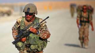 Danske soldater i Helmand-provinsen i Afghanistan.