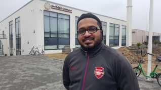 Faiyaz Hussein har boet fem år i Danmark.