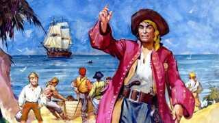 Seriens John Silver er ikke inspireret af en virkelig Pirat, men af karakteren Long John Silver fra Robert Louis Stevenson' Skatteøen.