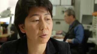Bestyrelsesformanden for organisationen Japan Association for Refugees, Eri Ishikawa.