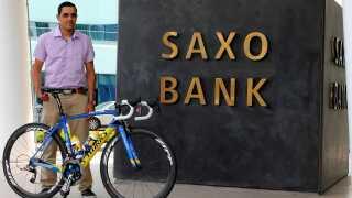 Mohamed Mujel har fået en cykel af finansmanden Lars Seier Christensen.