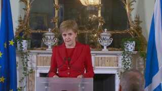 Skotlands førsteminister Nicola Sturgeon.