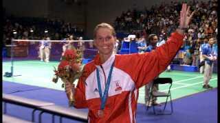 Camilla Martin er den eneste dansker, der har vundet en OL-medalje i damesingle.