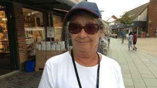 Jette Heibøll blev lokket til Nykøbing Mors for 19 år siden af hendes mand. Det er er hendes fjerde år i år som frivillig til kulturmødet.