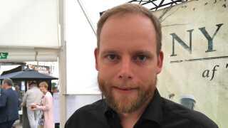 Kasper Ravn Fredensborg sidder i byrådet i Herning, og er med til Kulturmødet på Mors for tredje gang.