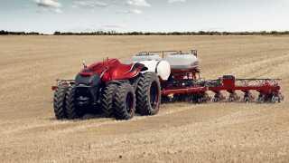 Robot-traktoren Autonomous Concept Vehicle fra Case IH blev for præsenteret i slutningen af august. Den er et godt bud på fremtidens traktor.