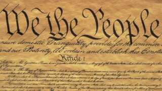 """""""We the people..."""" sådan begynder den amerikanske forfatning, der i følge Brian Arly Jacobsen er en af de mest sekulære forfatninger, der findes."""