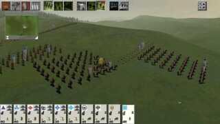 'Total War' er en serie af historiske strategispil. Det første spil i serien hedder 'Shogun: Total War', og det udkom i 2000, hvor det så ud på denne måde.