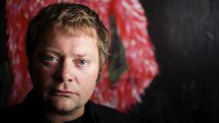 """Jan Sonnergaards første roman """"Om atomkrigens betydning for Vilhelm Funks ungdom"""" udkom i 2009, hvor også dette billede er fra."""