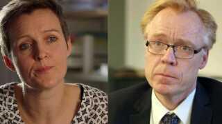 Natalie Videbæk Munkholm og Henrik Karl Nielsen er begge eksperter i arbejdsret.