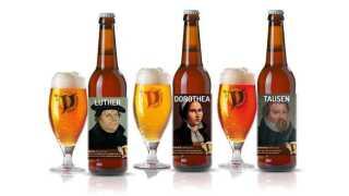 Flere lokale bryghuse har brygget særlige reformationsøl.