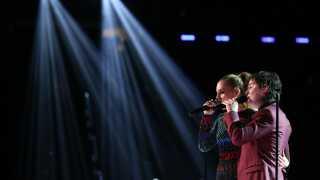 Lukas Graham var på scenen sammen med countrystjernen Kelsea Ballerini for at optræde.