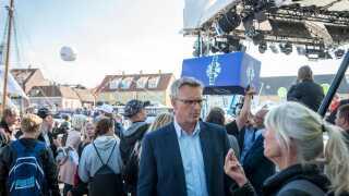Ulrik Haagerup under Folkemødet på Bornholm sidste år.