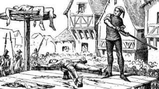 Homoseksualitet var en synd, der kunne føre til henrettelse ved radbrækning.