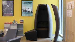 Cocoon hedder stolen, der fremover skal hjælpe med at nedsætte antallet af bæltefikseringer.