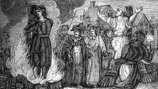 Hekseafbrændingerne tog først fart i Danmark efter middelalderen. I årene 1540 til 1693 blev op til 1000 mennesker brændt.