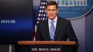 Michael Flynn, da han var ansat som national sikkerhedsrådgiver for Donald Trump.