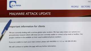 Det globale advokatfirma DLA Piper informerer sine kunder om malware-angrebet.
