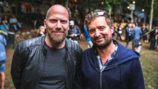 Ricco Andy Jensen og Jesper Callesen er enige om, at det var en god koncert, og at Karl WIlliam er en virkelig dygtig sanger.