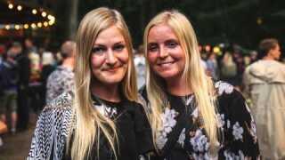 Chalotte Nielsen og Maja Nielsen syntes, koncerten var helt perfekt som aftenens 'opstartskoncert', der på et tidspunkt gav Chalotte 'gåsehud'..