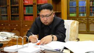 Den nordkoreanske diktator, Kim Jong-un, har truet med at angribe USA.