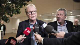 Venstres Ulrik Wilbek oplyste kort før klokken tre natten til onsdag, at han bliver ny borgmester i Viborg.