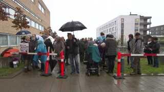 Mens sagen har kørt i Retten i Holbæk har tilhængere af Claus 'Moffe' Nielsen og medicinsk cannabis vist deres støtte ved at møde op foran retten.
