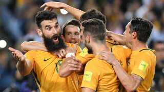 Crystal Palace-spilleren Mile Jedinak sendte med et hattrick mod Honduras Australien til VM. Det havde han selv lidt svært ved at fatte.