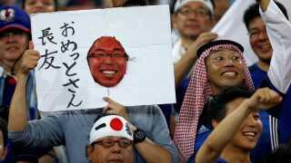 De japanske er altid dedikerede. Her flot papudsmykning.