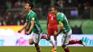 Der er store forhåbninger til Hirving Lozana, til venstre, på det mexikanske landshold.