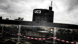 Ubåden Nautilus sank den 11. august, men den blev bjærget op og er siden blevet undersøgt af politiet.