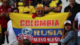 De colombianske fans glæder sig allerede til at deltage i Rusland.
