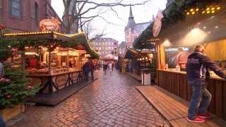 Julemarkedet på torvet i Oldenburg har 125 boder.