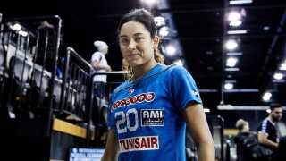 Mouna Chebbah er tunesernes helt store stjerne.