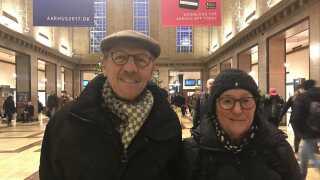 Troels og Ella Kristensen har ikke selv oplevet så meget i kulturåret - nok mest, fordi de skulle 'køre efter tilbudene', indrømmer de.
