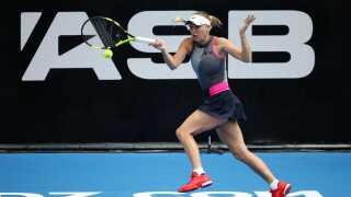 Caroline Wozniacki blev nummer to i Auckland. Danskeren tabte til Julia Goerges i finalen.