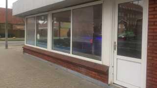 Frisørsalonen, hvor der blev skudt efter en person den 5. januar.